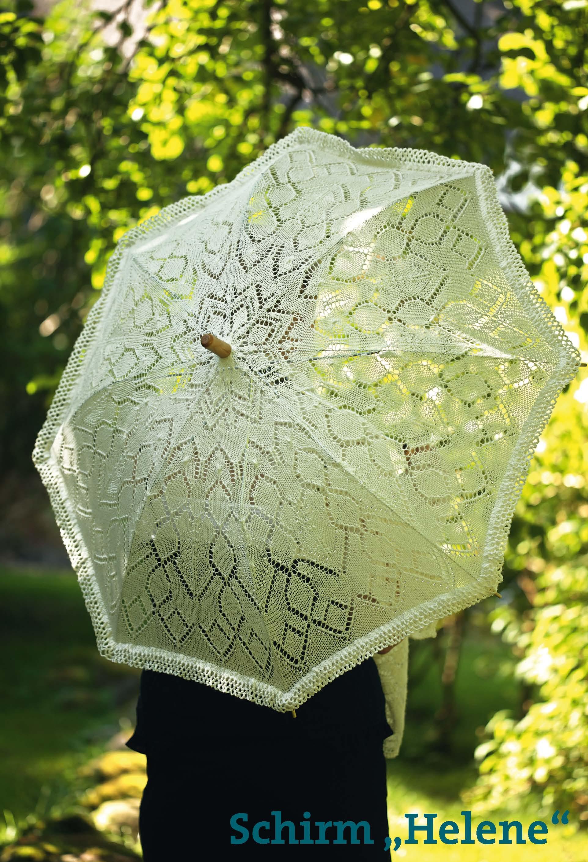Buchverlag Für Die Frau Handarbeitstipp Gestrickter Sonnenschirm