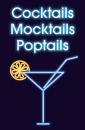 Cocktails - Mocktails - Poptails